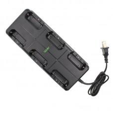 Зарядное устройство для 6 рации WLN KD-C1 купить